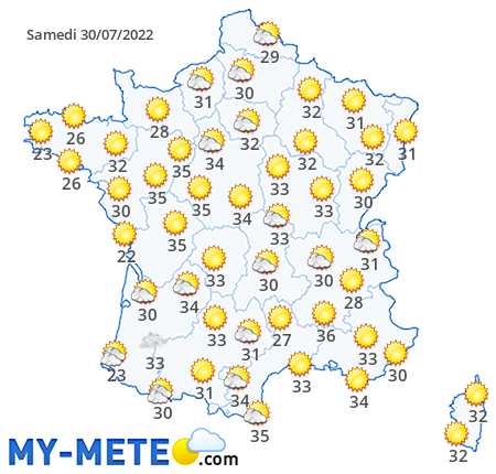 France weather today